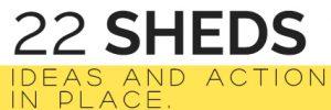 22 SHEDS company logo