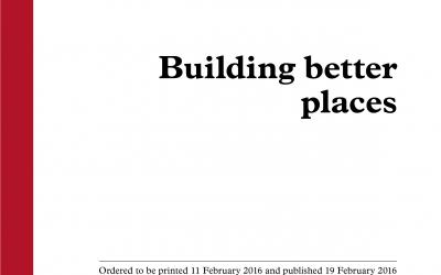 CAMPAIGN: Building Better Places